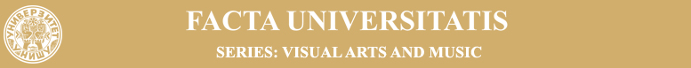 Facta Universitatis, Series Visual Arts and Music